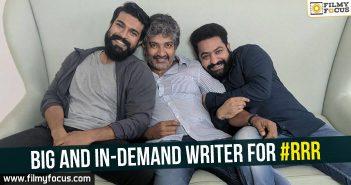 Sai Madhav Burra, Ram Charan, Rajamouli, Jr NTR, NTR