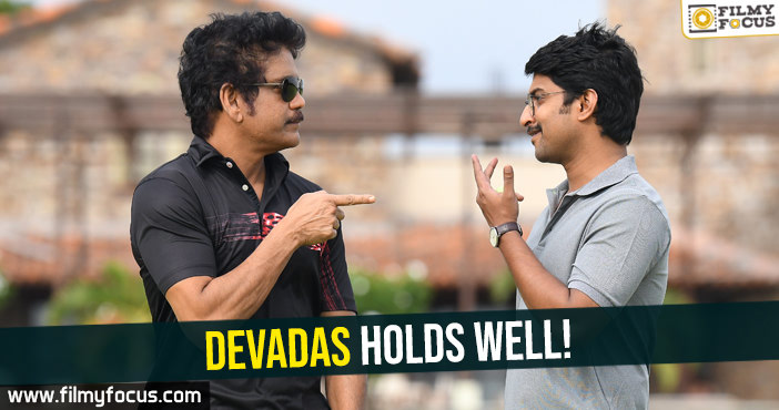 Aakansha Singh, DevaDas Movie Collections, Devadas Movie Review, DevaDas Movie Telugu Review, Movie Review, nagarjuna, Nani, Rashmika Mandanna