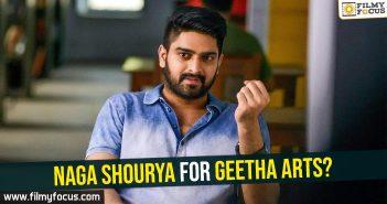 Naga Shourya, Geetha Arts,