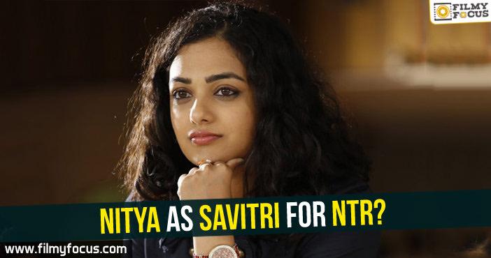 Rana Daggubati, Vidya Balan, NTR biopic, Keerthy Suresh , Savitri, Nitya Menen