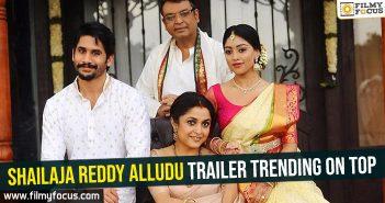 Shailaja Reddy Alludu Movie, Naga Chaitanya, Anu Emmanuel, Ramya Krishnan, Maruthi,