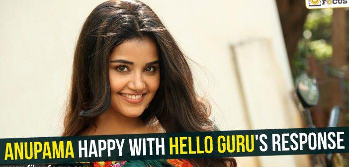 Anupama happy with Hello Guru's response!