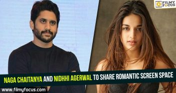 Naga Chaitanya and Nidhhi Agerwal