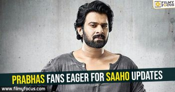 Prabhas, Saaho Movie,