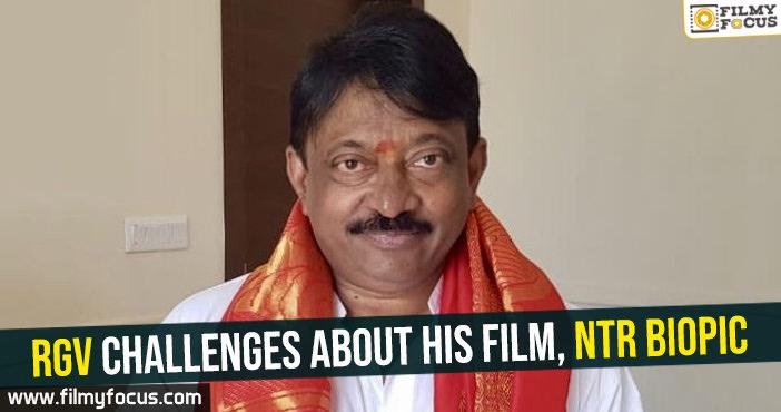 RGV, NTR biopic, Ram Gopal Varma,