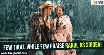 Rakul as Sridevi