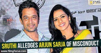 Sruthi Hariharan, Arjun Sarja,