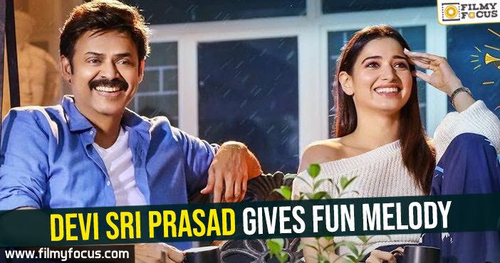 devi-sri-prasad-gives-fun-melody