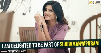 Subramanyapuram Movie, Sumanth, Eesha Rebba