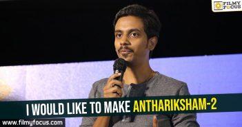Sankalp, Sankalp Reddy, Anthariksham Movie, Varun Tej, Aditi Rao Hydari,Lavanya Tripathi,