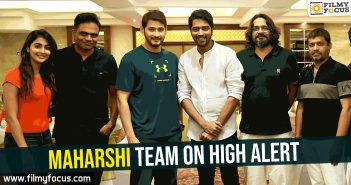 maharshi-team-on-high-alert