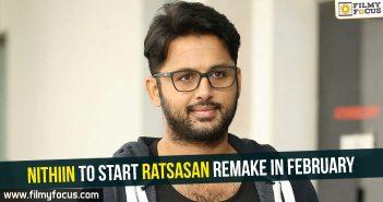 Nithiin, Ratsasan Movie