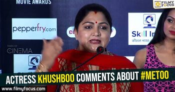 Senior actress Khushboo, #MeToo, Khushboo, actress Khushboo,
