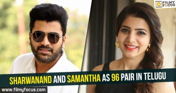 Sharwanand, Samantha, 96 Movie