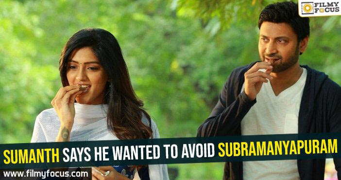 Subramanyapuram Movie, Sumanth, Eesha Rebba,
