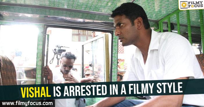 actor vishal latest news actor vishal news vishal latest news vishal actor vishal actor arrested news