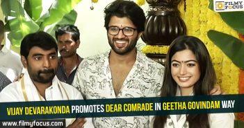 Vijay Devarakonda, Dear Comrade Movie, Geetha Govindam Movie, Rashmika