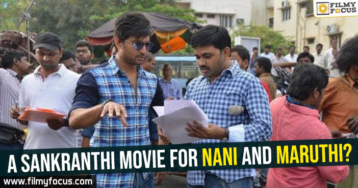 Hero Nani, Director Maruthi, Geetha Arts, Nani, Actor Nani