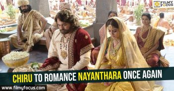 Chiru, Nayanthara, Chiranjeevi, Sye Raa Movie