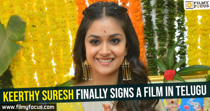 keerthy-suresh-finally-signs-a-film-in-telugu