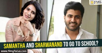 Samantha, Sharwanand, 96 Movie,