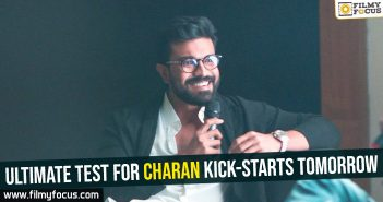 ultimate-test-for-charan-kick-starts-tomorrow