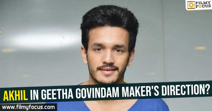 akhil-in-geetha-govindam-makers-direction