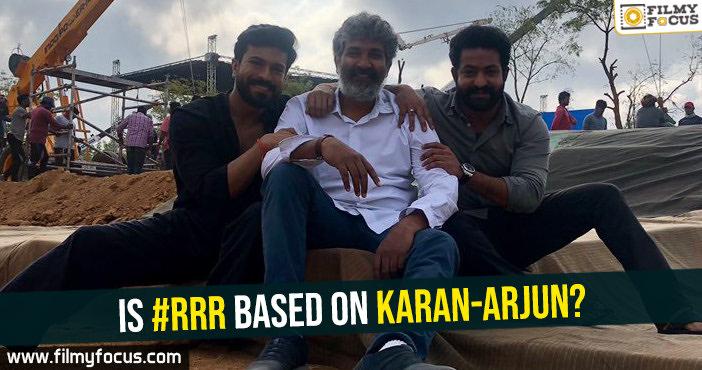 is-rrr-based-on-karan-arjun