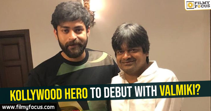 kollywood-hero-to-debut-with-valmiki