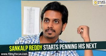 sankalp-reddy-starts-penning-his-next