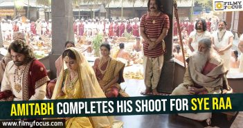 amitabh-completes-his-shoot-for-sye-raa