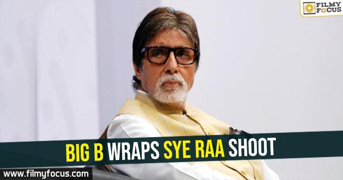 big-b-wraps-sye-raa-shoot