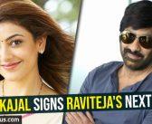 News-Kajal signs Raviteja's next