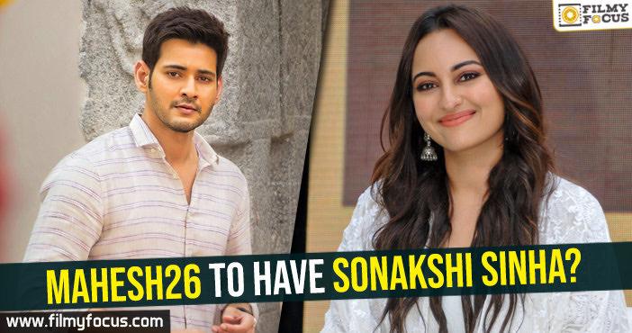 mahesh26-to-have-sonakshi-sinha