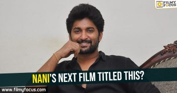 Nani, Natural Star Nani, Jersey Movie,