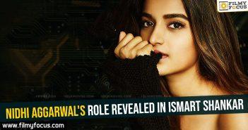 nidhi-aggarwals-role-revealed-in-ismart-shankar