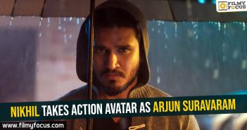 nikhil-takes-action-avatar-as-arjun-suravaram