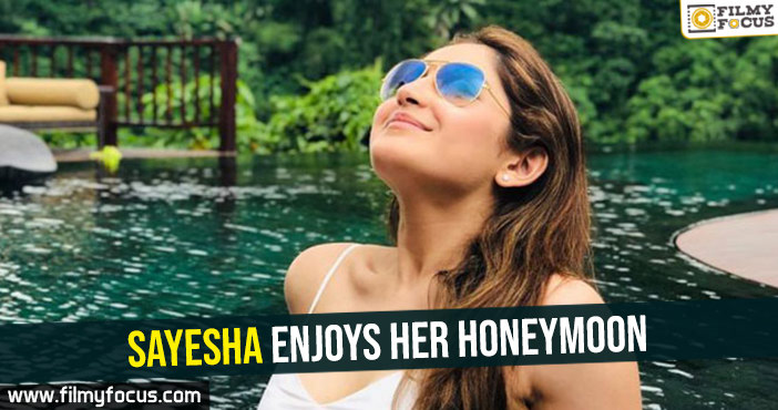 sayesha-enjoys-her-honeymoon