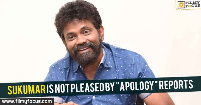 sukumar-is-not-pleased-by