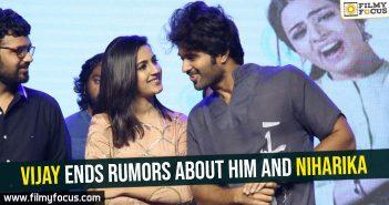 vijay-ends-rumors-about-him-and-niharika