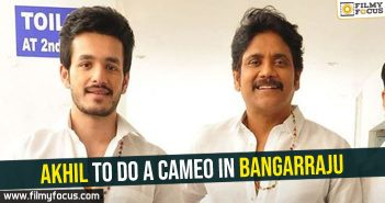 akhil-to-do-a-cameo-in-bangarraju