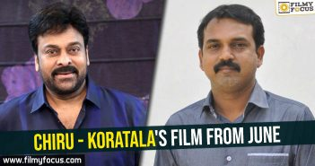 chiru-koratalas-film-from-june