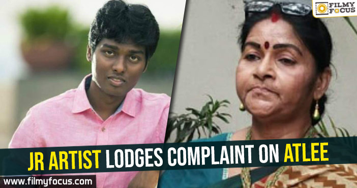 junior-artist-lodges-complaint-on-atlee-kumar