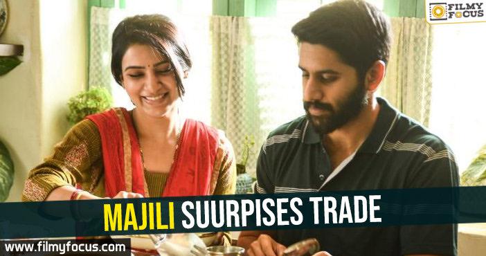 Majili suurpises trade-enters profit zone
