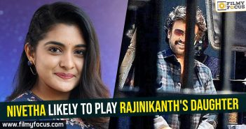 Nivetha Thomas, Rajinikanth, Darbar Movie,