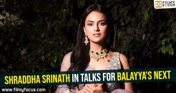 shraddha-srinath-in-talks-for-balayyas-next