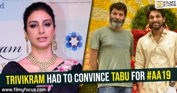 trivikram-had-to-convince-tabu-for-aa19