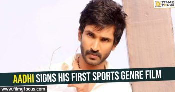 aadhi-signs-his-first-sports-genre-film