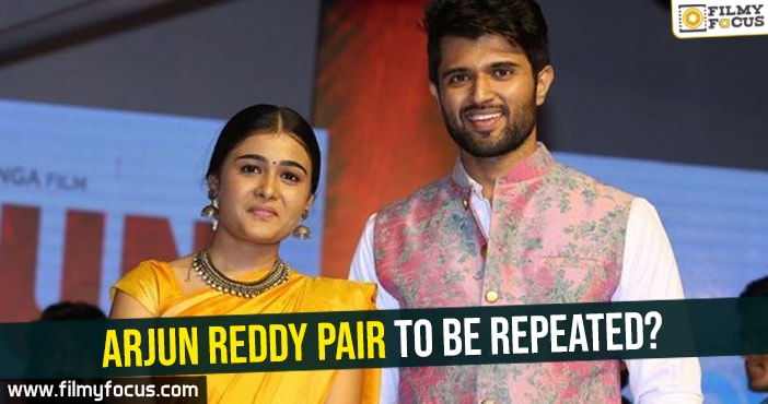 Vijay Deverakonda, Shalini Pandey, Arjun Reddy Movie