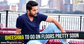 Nithiin, Bheeshma Movie, Venky Kudumula, Chalo Movie, Rashmika Mandanna